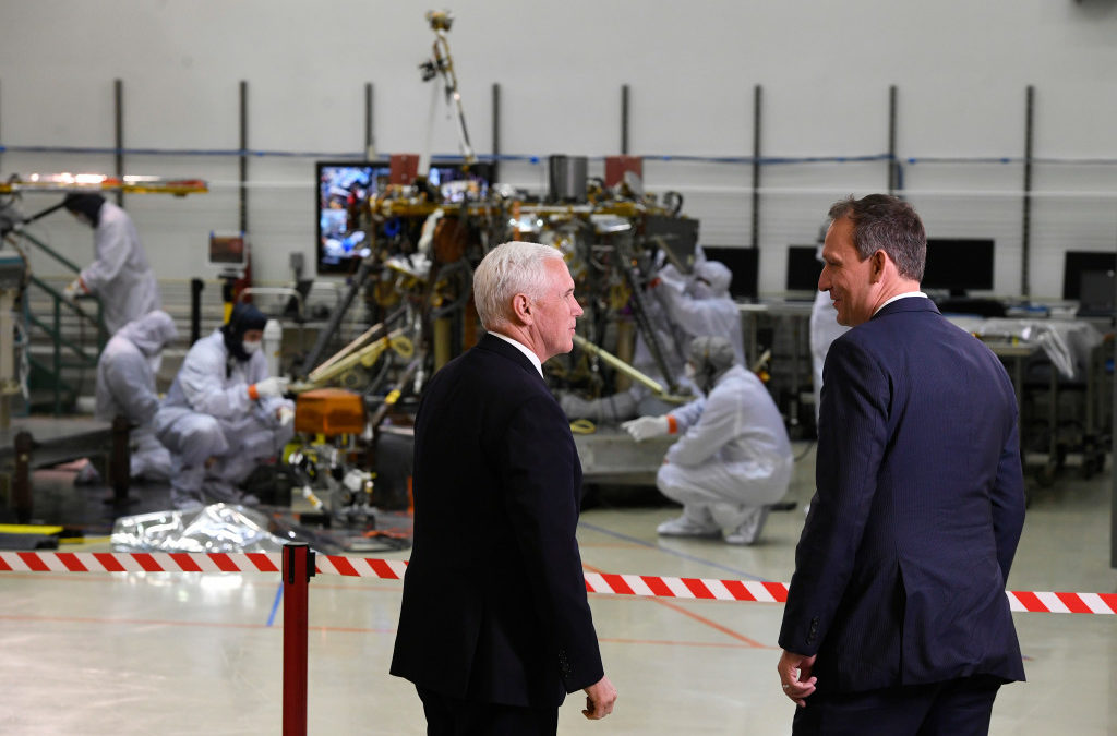 "Vice President Mike Pence tours Lockheed Martin Space Systems, promises America will ""lead in space once again"" – The Denver Post"
